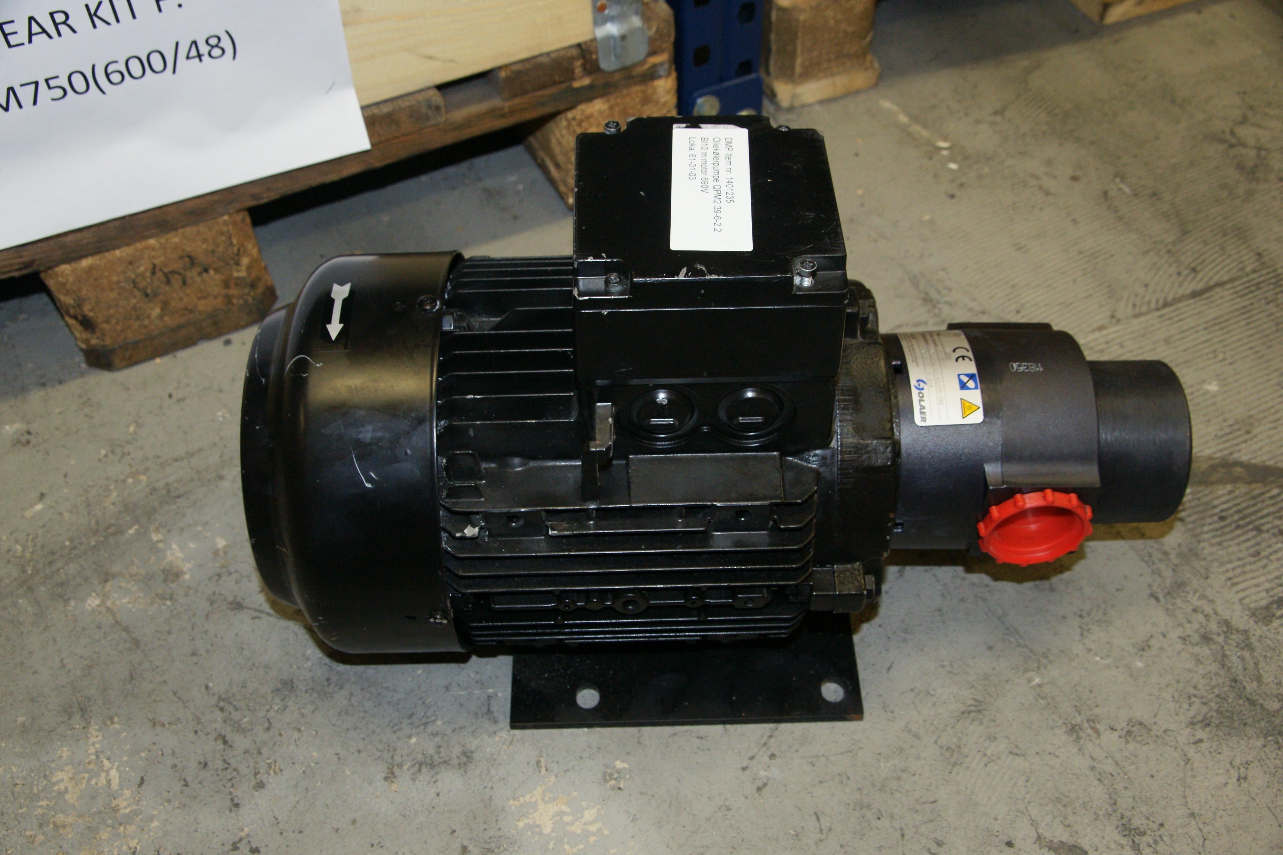 Oil Pump Qpm2 39 6 2 2 Bi10 W Motor 690v Spares In Motion