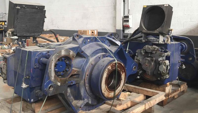 Gearbox – Hansen EH551 G31-BNC
