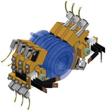 carbon brush holder vestas generator v52 v90 2 0 spares in motion. Black Bedroom Furniture Sets. Home Design Ideas
