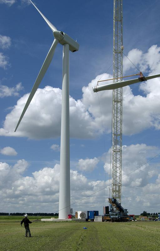 Rental Tools For Mounting And Dismounting Vestas V80 Wind