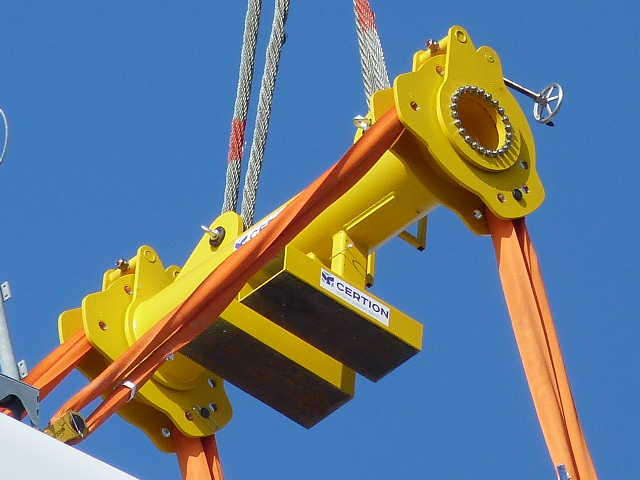 Rental Tools For Mounting And Dismounting Vestas V90 3 0mw