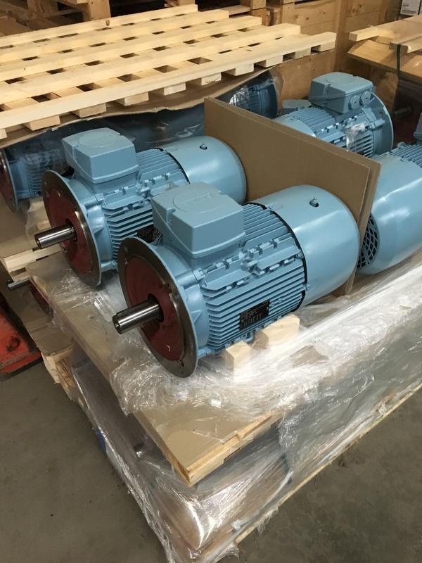 Siemens El Motor 3 Phase 400 690v Spares In Motion