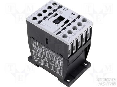 CONTACTOR DILM 3KW 24VDC 3POL 0