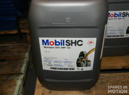 Oil Mobilgear SHC XMP 320, 20 L can | Spares in Motion