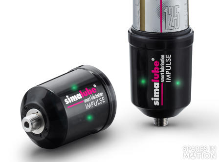 Pressure booster simalube IMPULSE (10 bar / 145 psi) to simalube lubricator 0