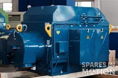 60 Hz, 3400 kW Elin generator for N100 and N117 (various speed) 0