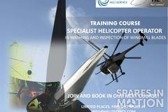 COURSE OF HELICOPTER OPERATOR SPECIALIST IN WASHING AND INSPECTION OF WINDMILL BLADES  0