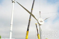 Wind turbine dismantling / erection ( ENERCON & VESTAS )  0