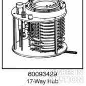 17-Way Hub Control Slip Ring