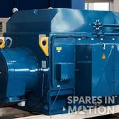 60 Hz, 3400 kW Elin generator for N100 and N117 (various speed)