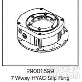 7 Way HYAC Slip Ring Assembly Unit