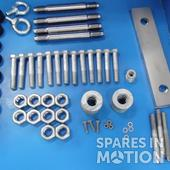 Blade set WES80/WES100 (complete incl. fasteners)