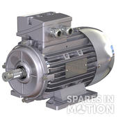 Electric motor 0,75 kW, B5 flange, 50/60Hz, 230/400 V, RAL9006