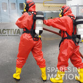 Training for emergency personnel with chemical risk. Emergency intervention