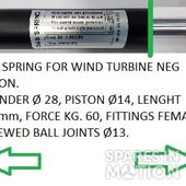 GAS SPRING FOR NEG MICON WIND TURBINE