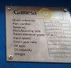 GEARBOX ECHESA PE1080 S2010  for AE61 windturbine