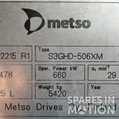 Multiplicadora– S3GHD-506XM for Vestas V47