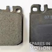 PADS SET FOR DEMAG CALIPER 900610, NOT ORIGINAL BUT FULLY COMPATIBLE WITH DEMAG CODE 900505