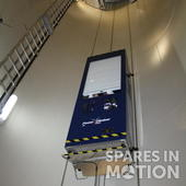 Power Climber Service Lift for wind turbines