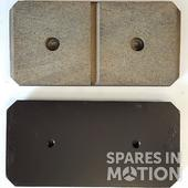 SVENDBORG YAW BRAKES PADS, NOT ORIGINAL FULLY COMPATIBLE
