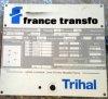 Transformateur: 20 KV-1.600 KVA – 690V