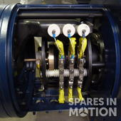 Vestas 764600 Refurbished ABB AMK 500L4 BATYH Generator for 1.75/2.0MW