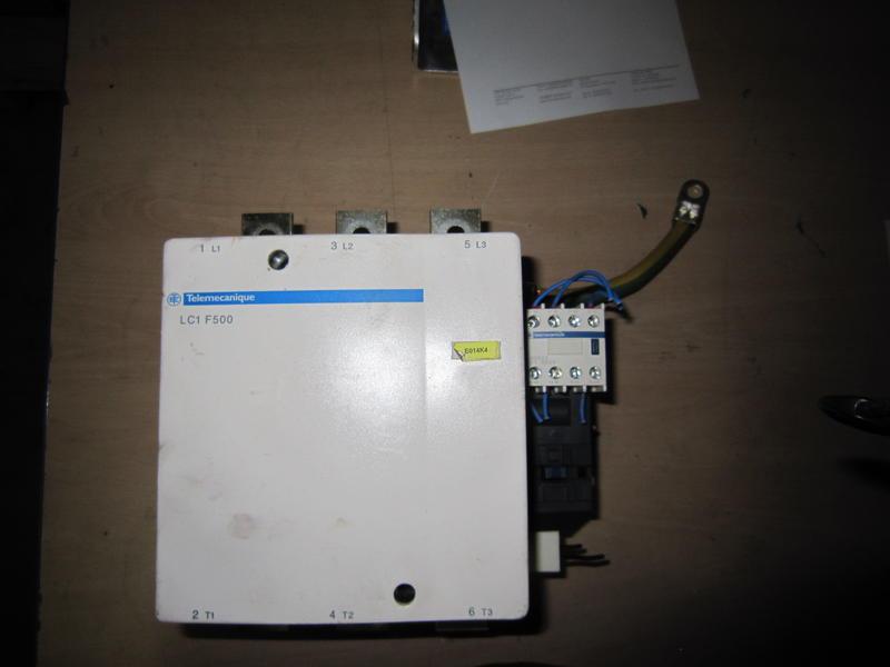contacteur telemecanique lc1 f500